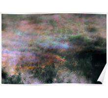 Iridescent Cirrocumulus Cloud near Melbourne, Victoria. Poster