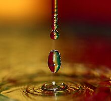 A chain of drop series. by Dipali S