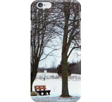 Have a seat. iPhone Case/Skin