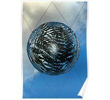 planet steel. wellington, aotearoa Poster