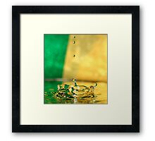Crowning glory. Framed Print