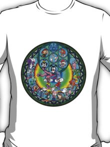 Stained Glass Tiny Toons Adventures Drawing T-Shirt