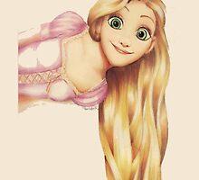 Disney's Tangled, Rapunzel by Pariss93
