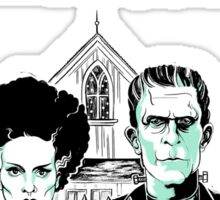 THE BRIDE OF FRANKENSTEIN Sticker
