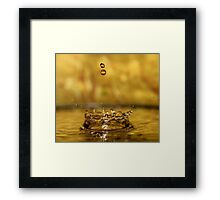 Crowning glory series Framed Print