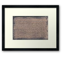 grungy wood Framed Print