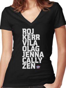 Blake's 7: Series 1 Crew Women's Fitted V-Neck T-Shirt
