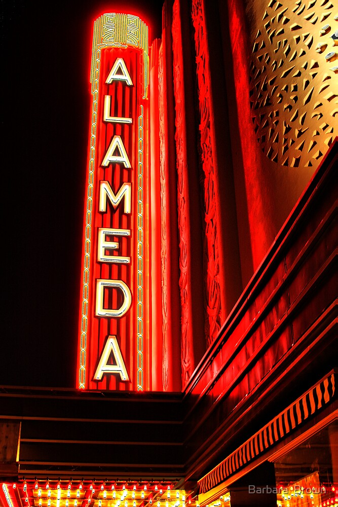 Alameda Theatre by Barbara  Brown