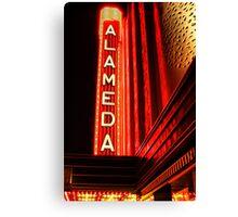 Alameda Theatre Canvas Print