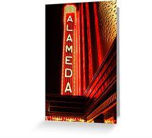 Alameda Theatre Greeting Card