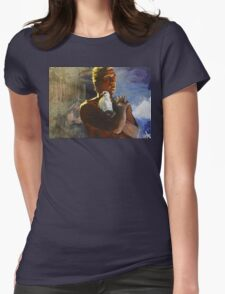 Tears in the Rain Womens Fitted T-Shirt