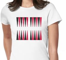 Backgammon Womens Fitted T-Shirt
