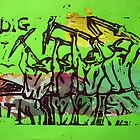 DIG IT - green collage version by adamkissel