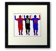 Lionel Messi - The Greatest Ever Framed Print