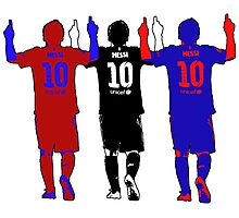 Lionel Messi - The Greatest Ever Photographic Print