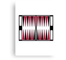Backgammon board Canvas Print