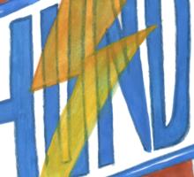 THUNDER Sticker