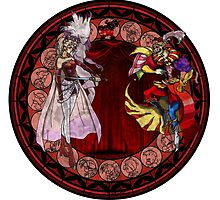 Stained Glass Final Fantasy 6 Drawing by trevorao
