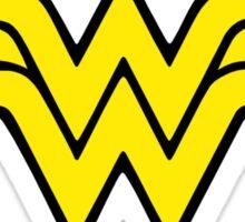 Wonder Woman Logo (Black) Sticker
