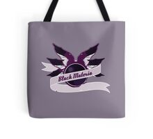 Black Materia Tote Bag