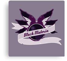 Black Materia Canvas Print