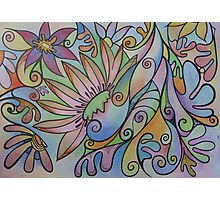 Pastel Petals Photographic Print