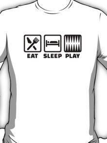 Eat sleep play Backgammon T-Shirt