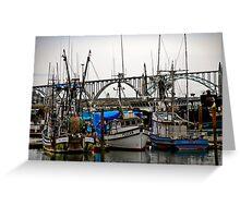 Newport, Oregon Greeting Card