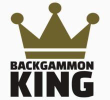 Backgammon King by Designzz