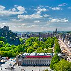 Edinburgh Castle View: Capital City of Scotland by DonDavisUK