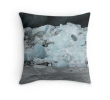 Icy Peaks 3 Throw Pillow