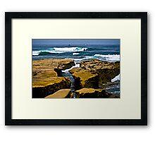 La Jolla Shoreline Framed Print