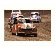 'Wahgunyah Speedway 3' Art Print