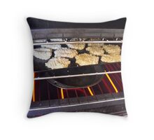 Tasty Biscuits  Throw Pillow