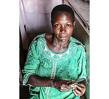 Nalongo - mother of twins Photographic Print