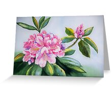 """""""Rhododendron Beauties""""  Greeting Card"""