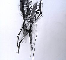 Nude self study by Arzeian
