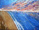 Sunset Seascape by Beverley  Johnston