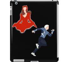 Scarlet Witch & Quicksilver Simplistic  iPad Case/Skin