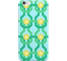 Yellow Flower Knit Pattern iPhone Case/Skin