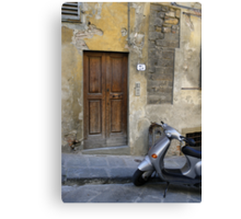 Rustic residence in Italy Canvas Print