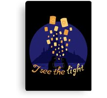 I see the light Canvas Print
