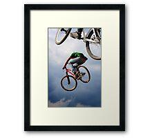 Airborne bikes Framed Print