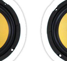 Speaker Cones Sticker