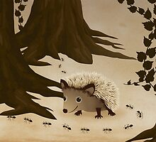 Hedgehog by franzi