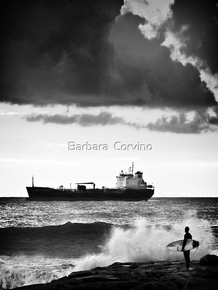 Do I go? by Barbara  Corvino