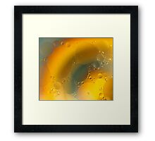Oil in water # 5 Framed Print