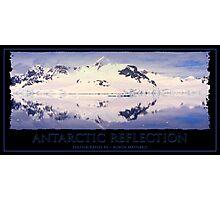 Antarctic Reflection Photographic Print