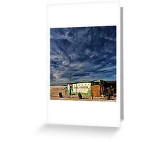 the beach shack Greeting Card