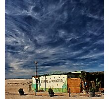 the beach shack Photographic Print